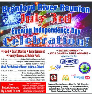Branford 4th July 2021